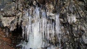 Cueva helada Fotos de archivo