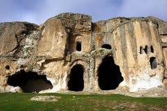 Cueva-iglesia en Turquía. foto de archivo libre de regalías