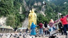Cueva Kuala Lumpur de Batu almacen de video