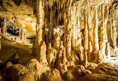 Cueva maravillosa en España Imágenes de archivo libres de regalías