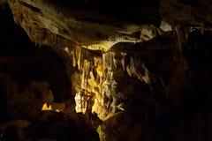Cueva oscura Imagenes de archivo