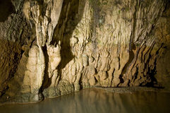 Cueva profunda Foto de archivo libre de regalías