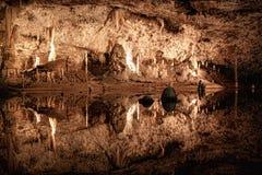 Cueva - Punkevni, Macocha, República Checa Fotos de archivo libres de regalías