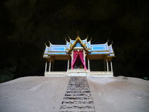 Cueva tailandesa de Pavillion - de Phraya Nakhon Fotos de archivo libres de regalías