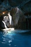 Cueva tropical del mar en el centro turístico Foto de archivo
