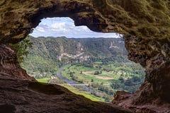 Cueva Ventana - пещера окна в Пуэрто-Рико Стоковые Фото