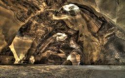 Cueva vieja grande hermosa fotografía de archivo libre de regalías