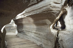 Cuevas Foto de archivo libre de regalías