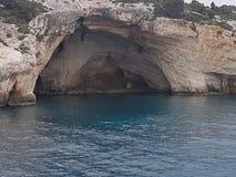 Cuevas azules Fotografía de archivo