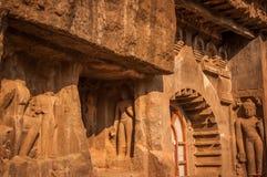 Cuevas de Ajanta Fotos de archivo