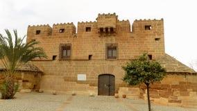 Cuevas de Almanzora Castello-Almeria-Spagna Fotografia Stock