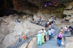 Cuevas de Borra, valle de Araku, Andhra Pradesh, la India Imagen de archivo