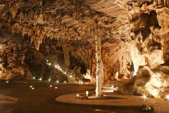 Cuevas de Cango, Suráfrica Foto de archivo