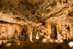Cuevas de Cango, Suráfrica Imágenes de archivo libres de regalías
