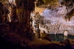 Cuevas de Drach imágenes de archivo libres de regalías