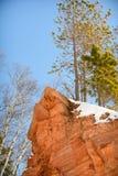Cuevas de hielo de Wisconsin - el lago Superior Fotos de archivo