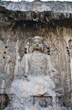 Cuevas de Longmen Imagenes de archivo