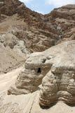 Cuevas de los desfiles de mar muerto Fotos de archivo libres de regalías