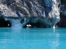 Cuevas de mármol. Fotografía de archivo libre de regalías