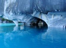 Cuevas de mármol. Imagen de archivo libre de regalías
