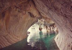 Cuevas de m?rmol foto de archivo
