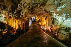 Cuevas De Nerja - Höhlen von Nerja in Spanien Stockbild