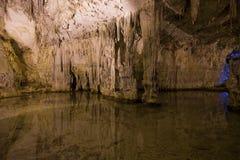Cuevas de Nettuno Imagen de archivo libre de regalías
