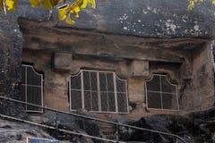 Cuevas de Pandava Fotos de archivo libres de regalías