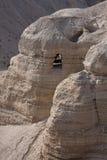 Cuevas de Qumran Imagenes de archivo