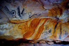 Cuevas de Yorumbulla, rangos del Flinders Foto de archivo libre de regalías