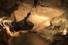 Cuevas del agua Foto de archivo libre de regalías