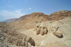Cuevas del desfile de mar muerto Imagen de archivo