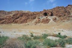 Cuevas del desfile de mar muerto Imagen de archivo libre de regalías