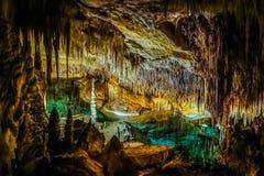 Free Cuevas Del Drach Or Dragon Cave, Mallorca Island, Spain Stock Photo - 160397490