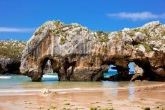 Cuevas Del Mar Fotografía de archivo