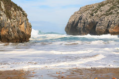 Cuevas del mar beach Stock Image