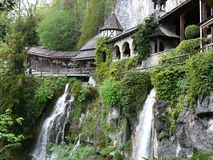 Cuevas del St. Beatus Fotografía de archivo libre de regalías