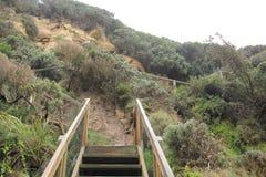 Cuevas notables en montaña tropical Imagen de archivo libre de regalías