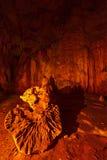 Cuevas subterráneos Imagen de archivo libre de regalías