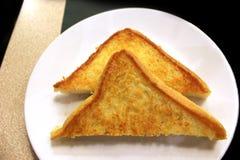 Cueza al horno la mantequilla del pan Fotografía de archivo libre de regalías