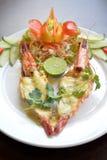 Cueza el queso del camarón Imagenes de archivo