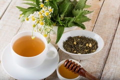 Cuf of herbal tea Royalty Free Stock Photography