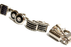 Cuff links Royalty Free Stock Image