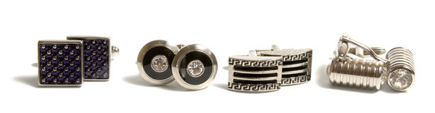 Cuff links Royalty Free Stock Images