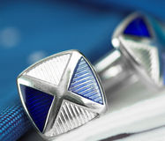 Cuff-Links Royalty Free Stock Photo