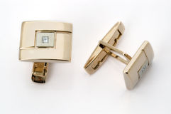 Cuff - links the diamonds Royalty Free Stock Images
