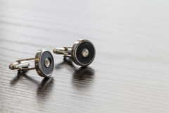 Cuff links Royalty Free Stock Photos