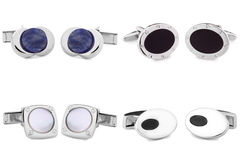 Cuff links Stock Images