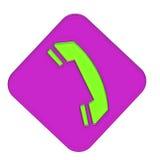 Cuffia avricolare del telefono Fotografia Stock