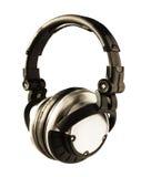 Cuffie del DJ Immagini Stock